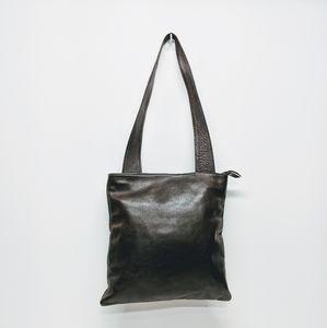 Sven Chocolate Leather Bag